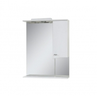 "Зеркало ""Дуга""-56 (65, 75) со шкафчиком"