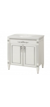 "Vanity Unit ""Romance 80""- with washstand ""Romance 80"" (silver)"