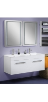 "Vanity Unit  ""Double"" 125 with  washstand"